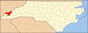 North Carolina Map Highlighting Swain County.PNG