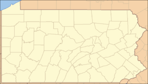Pennsylvania Locator Map