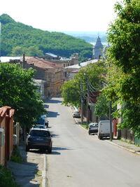 RO OT Slatina old city street 1