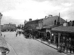 Vue de la ville de Bouzeou