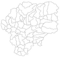 Harta jud Bistrita-Nasaud