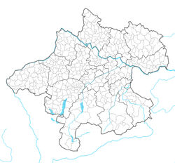 Upper Austria location map