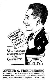 Freudenberg-ArthurOscar caricature