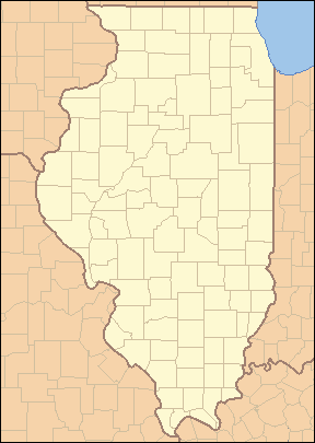 Illinois Locator Map