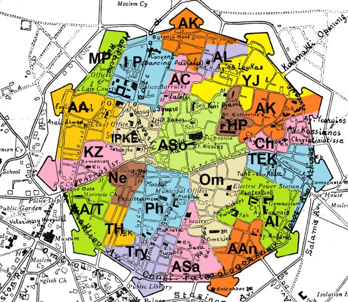Nicosia Neighbourhoods
