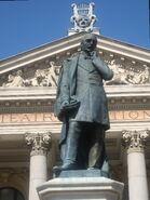 Statuia lui Vasile Alecsandri din Iaşi10