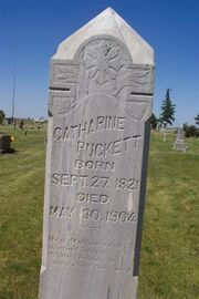 Keever-Catherine tombstone