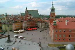 Warsaw - Royal Castle Square