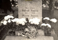Naess-Alfred tombstone