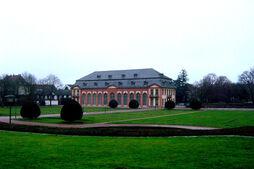 Orangerie w Darmstadt - fasada pd