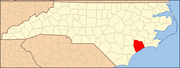 North Carolina Map Highlighting Onslow County.PNG