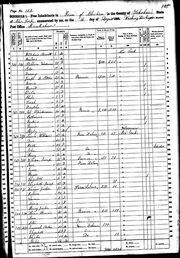1860 census Vandeusen-Lorenzo