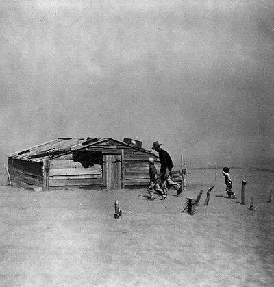 Dust Bowl Oklahoma