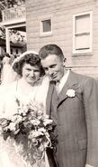 Kenneth Kiel Doty and Doris Irene Hunt wedding