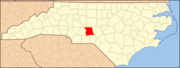 North Carolina Map Highlighting Montgomery County.PNG
