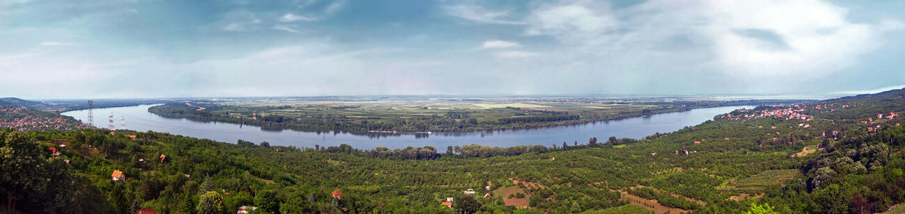 Danube in Ritopek, Serbia