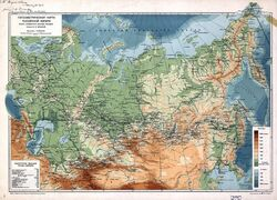 Russian Empire Map 1912
