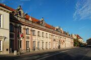 Warszawa pałac Branickich (Miodowa)