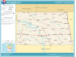 National-atlas-north-dakota