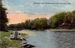 PostcardMoheganParkNorwichCT1912