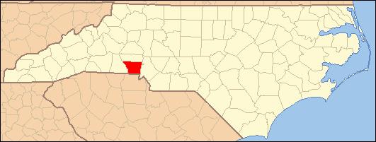 Gaston Nc Map.Image North Carolina Map Highlighting Gaston County Png