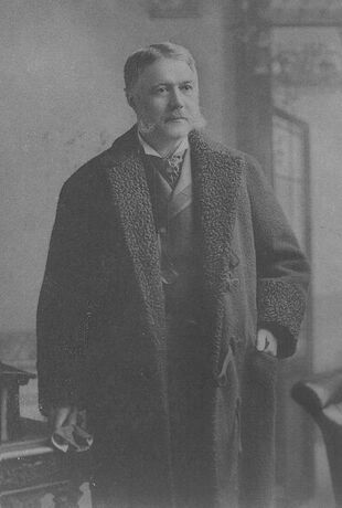 Chester Alan Arthur-standing-left