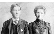 Andrina and Fredrik Erickson c1845
