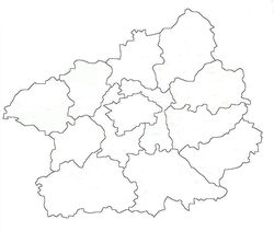 Central Bohemia location map
