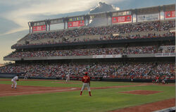Estadio de beisbol en Monterrey