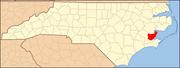 North Carolina Map Highlighting Pamlico County.PNG