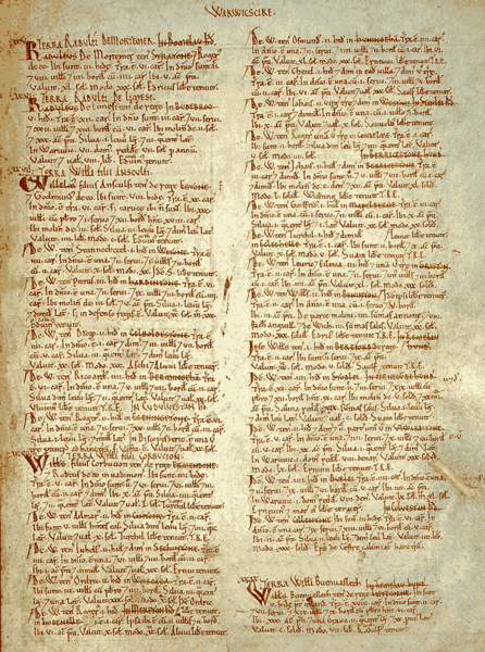 Domesday Book Pdf