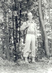 Joseph Szczesny at AP Hill Reservation (1942)