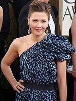 Maggie Gyllenhaal Golden Globes 2009