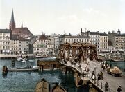 Stettin Lange Brucke (1890-1900)