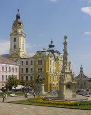Hungary-Pecs Main Place