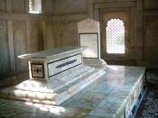 Inside allama iqbals tomb
