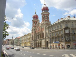 Great Synagogue Plzen CZ general view