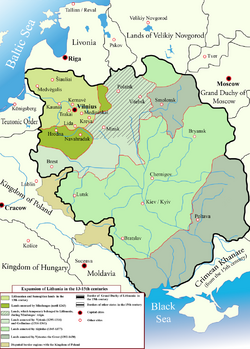 Lithuanian state in 13-15th centuries