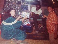 Obama 1971 christmas