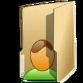 Vista-folder user