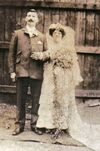 James Edward Baglin (c1874-1955) and Maud Elizabeth Baldwin (1885-1948) marriage 1906