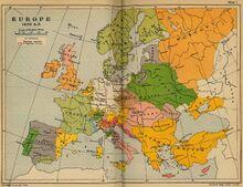 Europe 1490