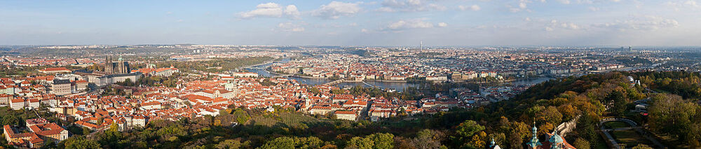 Prague Panorama - Oct 2010