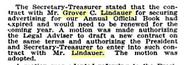 Lindauer-GroverCleveland 1940 circa