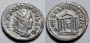 Antoninianus Philip the Arab - Seculum Novum