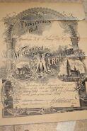 Knutsen Christensen 1931 marriage