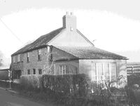 Old house - Feltham Lane - Home of James & Sarah Stickler 19 Century