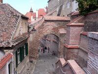 Sibiu, street and walls