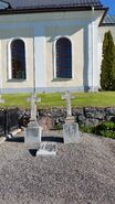 Tombstone of Reverend Israel Israelsson Näslund III (1796-1858), 2