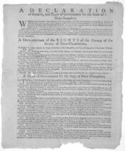 Declaration of Rights New Hampshire